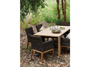 Stylish, durable outdoors furniture collection for all seasons
