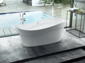 Latest Victoria + Albert bath with a 25-year guarantee