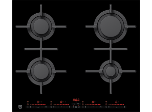 Gas cooktop with intelligent slider controls