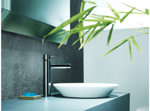 Cuff collection of bathroom tapware from Kohler