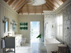 Modern vintage coordinated tapware and accessories for bathrooms