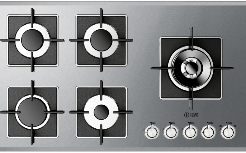 20181103A ILVE SS gas cooktop