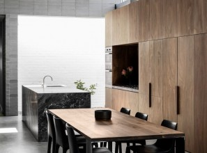 Timber cabinetry product in three native species