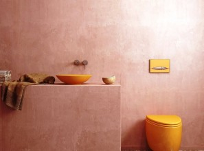 Moroccan colours for bathroom renovations