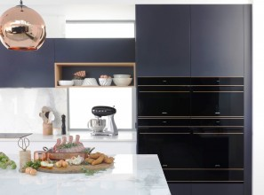 Luxury steam assist oven for faster cooking times and healthier meals