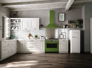 Green coloured appliances
