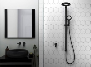 The industrial look for 2019 bathroom renovations