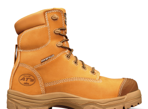 Lightweight work boots designed for safety and comfort