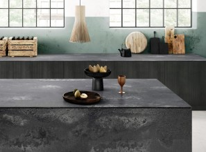 Benchtop collection inspired by concrete