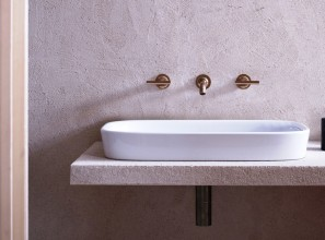 Vessel, countertop and wall-hung basins with minimum detail priced from $499 to $550