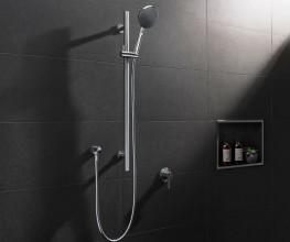 Stainless steel multi-function shower