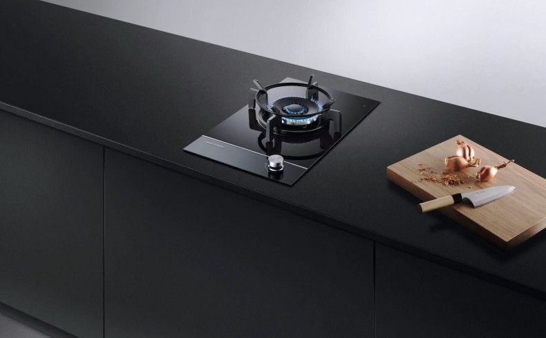 20190202A F&P Gas on Glass Cooktop