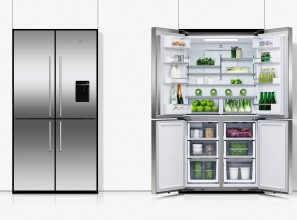 Quad-door 605-litre fridge-freezer from Fisher & Paykel
