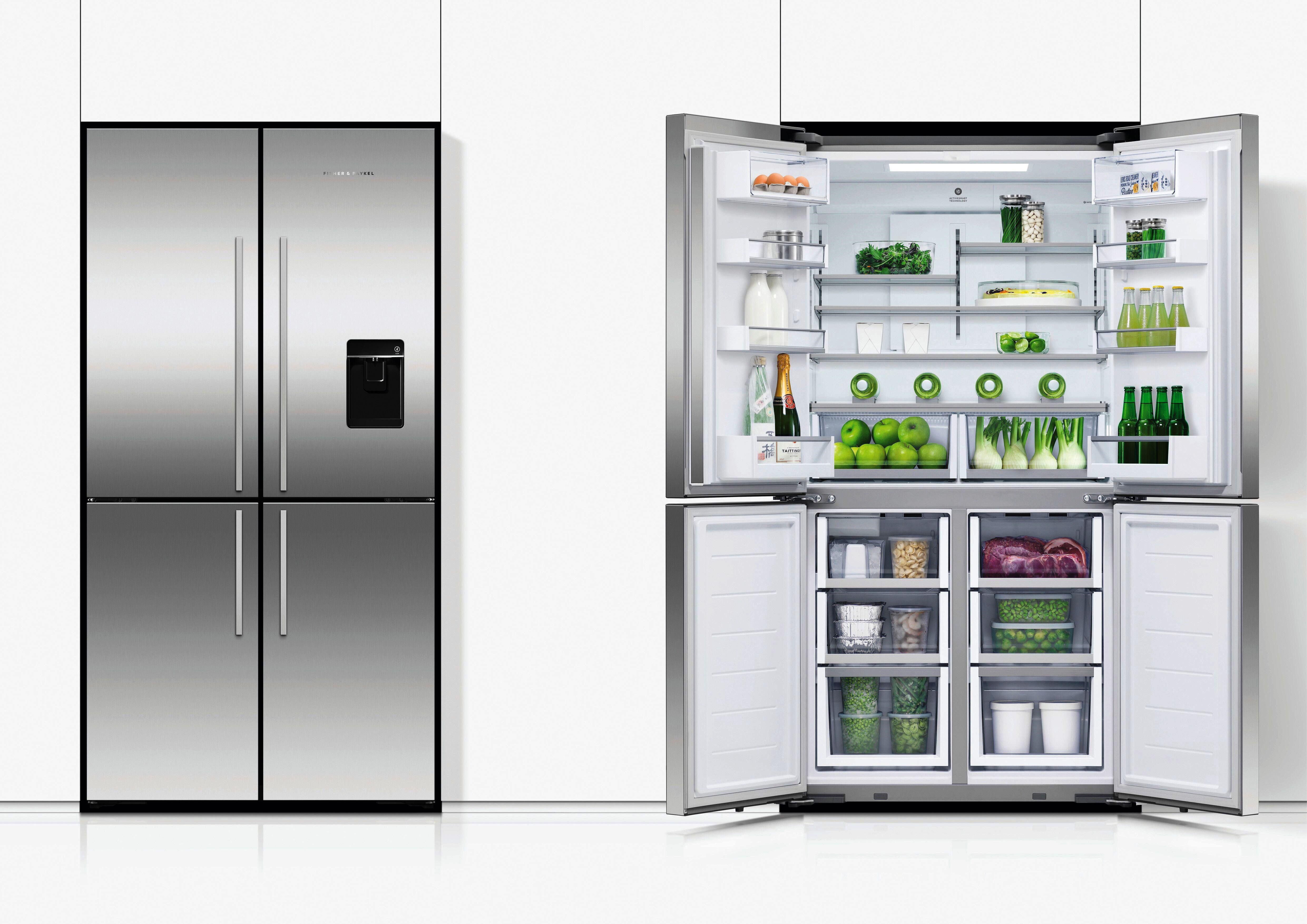 Quad Door 605 Litre Fridge Freezer From Fisher Amp Paykel