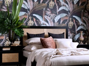 Luxurious bed linen in classic and modern styles