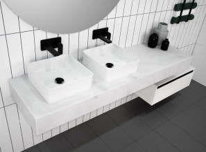 Collection of bathroom benches from 600mm to 1800mm long