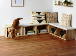 Pet proof hybrid timber floor boards from Carpet Court