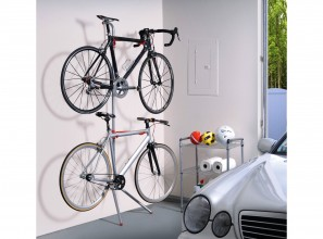 Bicycle storage options from Bunnings