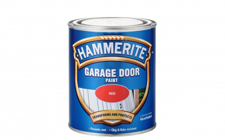 20190233B Hammerite Garage Door Paint red