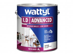 Wattyl's most advanced low VOC paint I.D Advanced