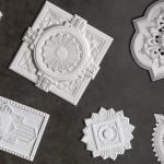 20190249 Schots plaster ceiling roses