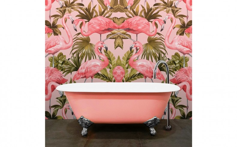20190255B Highgrove Bathrooms Oliver Bath Blush