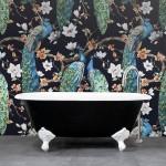20190255C Highgrove Bathrooms Oliver Bath Black