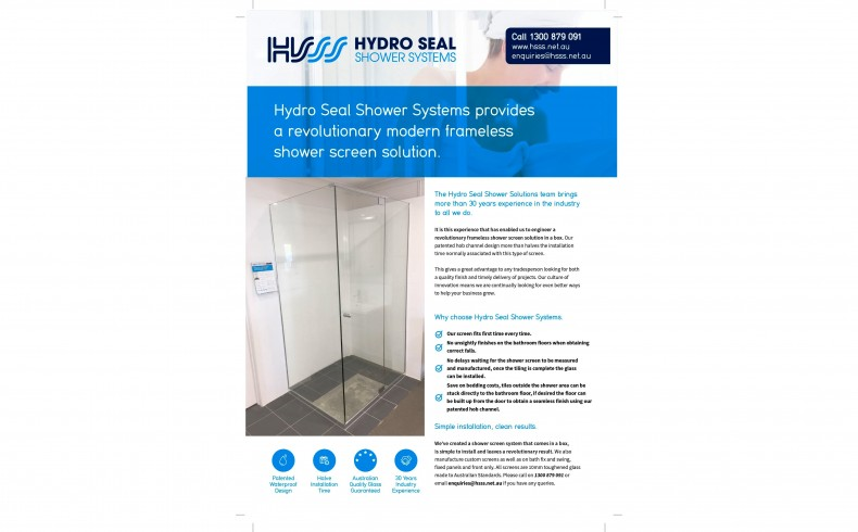 20190308A Hydro Seal Shower Systems