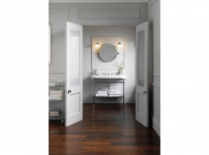 Washstand and vanity collections designed by Italian artisans