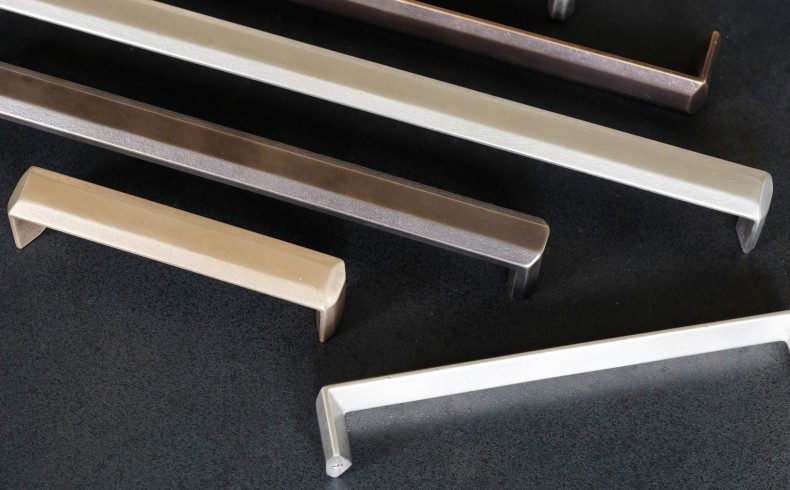 20190312D Mother of Pearl bronze D pull in various finishes