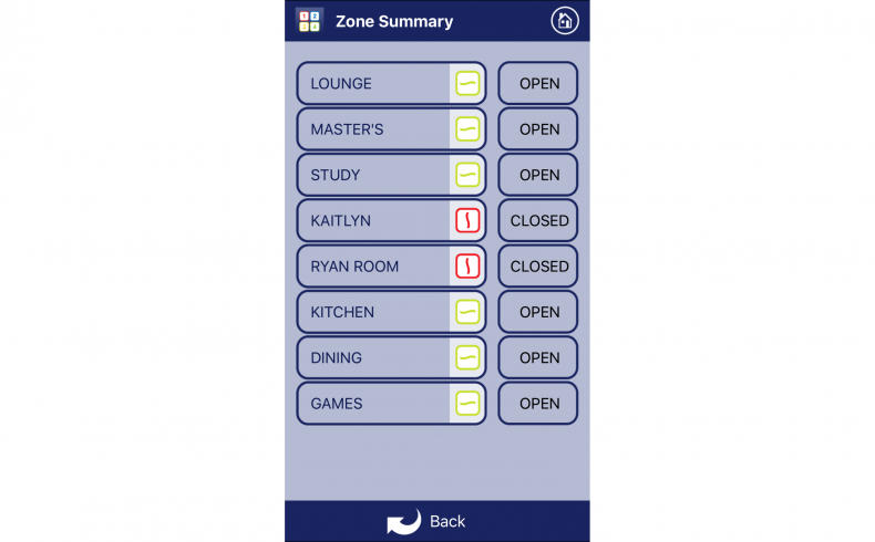 20190314A iZone screen zones