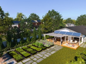 House and Garden of the Future at the Melbourne International Flower and Garden Show 2019