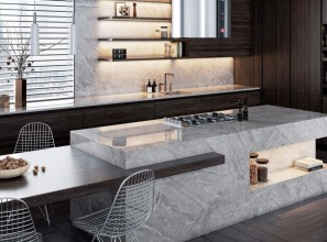 A new range of surfaces with the ultrarealistic beauty and appeal of natural stone