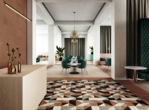 Italian tiles in 8 shapes, 4 sizes and 8 colours