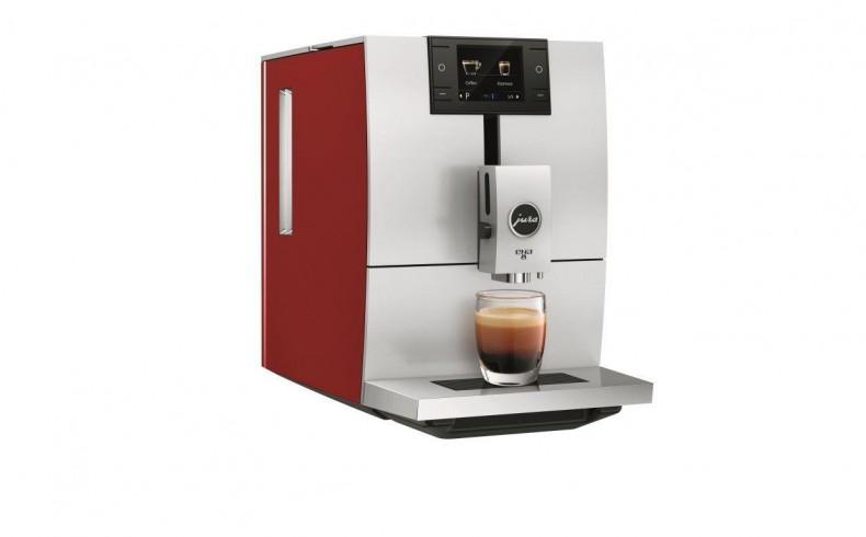 20190346C Jura ENA 8 coffee machine red