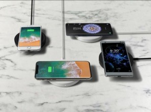 Charging pad for mobile phones