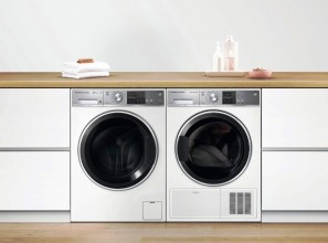 Matching 12kg front load washer and 9kg dryer