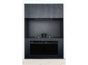 Black built-in ovens