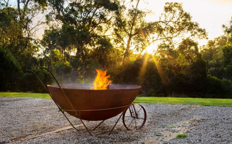20190405C Northcote Pottery Glow fire pit