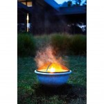20190405D Northcote Pottery Glow fire pit