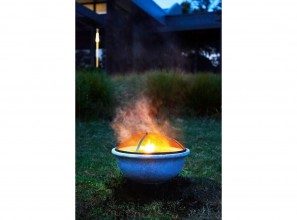 A range of 12 backyard fire pits