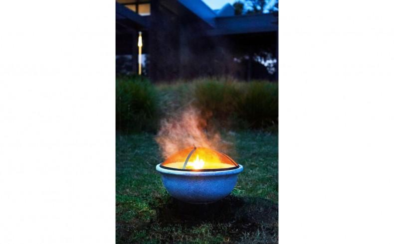 20190405D Northcote Pottery Glow fire pit
