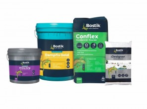 Tiling adhesive products for waterproofing, tiling and grouting jobs