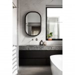 20190407A CAESARSTONE TURBINE GREY BATHROOM