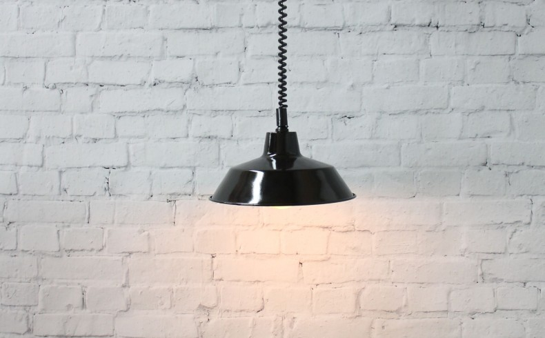 20190410B Fat Shack Vintage Factory Rise & Fall Pendant Light
