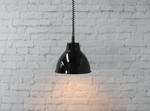 Vintage-style pendants with a rise-and-fall light cord