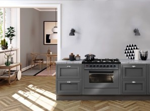 The new Grigio Lusso range of ovens from ILVE