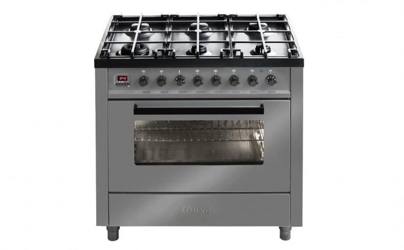20190413B ILVE Grigio Lusso range of ovens