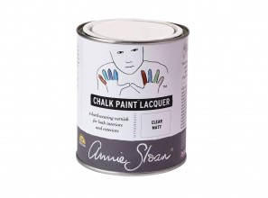 Chalk Paint Lacquer from Annie Sloan for sealing painting projects