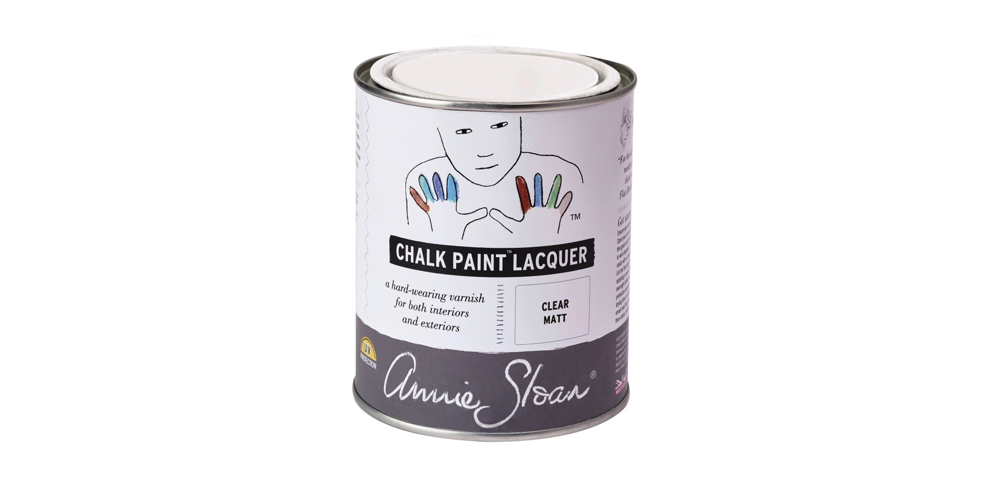 Chalk Paint Lacquer From Annie Sloan For Sealing Painting